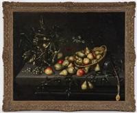 nature morte aux fruits avec poires et pommes by maerten boelema de stomme