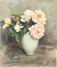 floral still life by elise claudine arntzenius