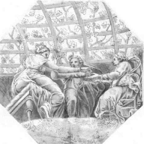 psyche übergibt juwelen an die eifersüchtigen schwestern by ippolito andreasi