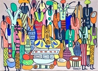 personajes de áfrica by francois thango