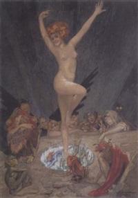 a devilish nymph by aleksandr petrovich apsit