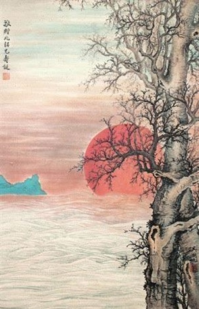朝阳 by wu hufan