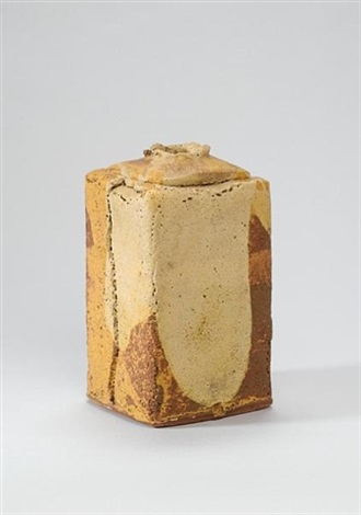 a square vase by ian auld