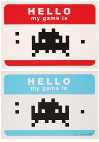 hello my game is (2 works) by invader