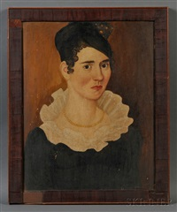 portrait of vienna goodnow, aged 24 years by thomas ware