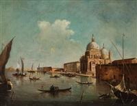 vista de venecia, santa maría la fiori by italian school-venetian (19)