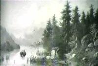 lago de montana by adolf melzer
