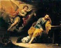 the dream of saint joseph by domingo martinez