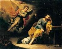 the dream of saint joseph by domingo martinez