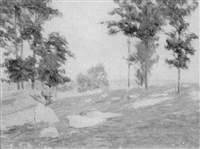 old lyme landscape by charles henry hayden