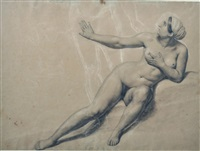 nudo femminile by gaetano forte