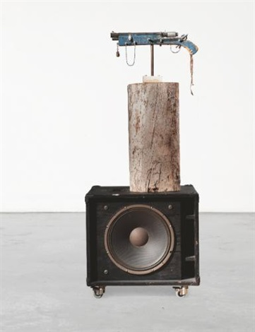 senza titolo jimmy jazz gun by tom sachs