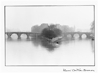 île de la cité, paris, france by henri cartier-bresson