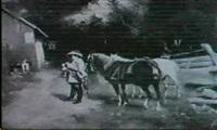 repas du cavalier pres d'une auberge by goldberg