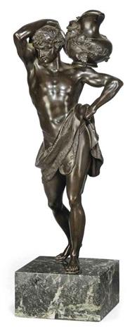 model of a bacchic figure by benedetto boschetti