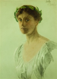 portrait of judith by anthony frederick augustus sandys