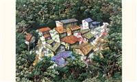 ciudad en bosque by eddy alejandro rodriguez sardinas