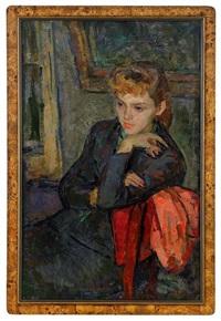 portrait of a lady by iosif naumovich gurvich