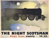 the night scotsman (poster) by alexandre alexeieff