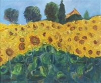 sunflowers riberac by ita quilligan