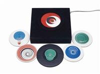 rotoreliefs (optical discs) (set of 12) by marcel duchamp
