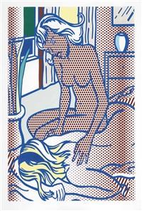 two nudes, state i by roy lichtenstein
