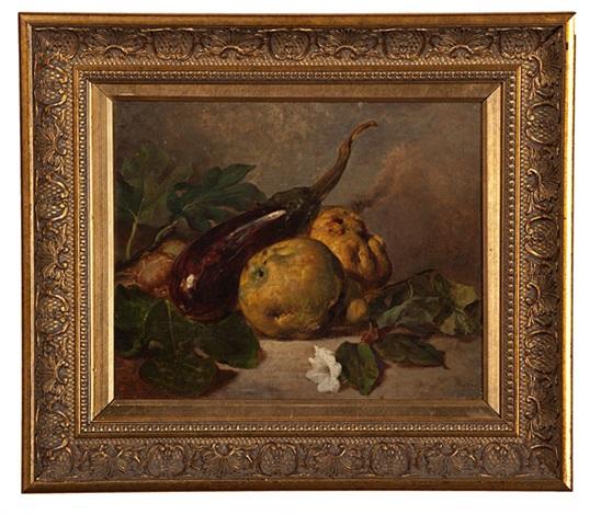 still life of fruit by henri fantin-latour