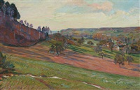 la vallée de chevreuse by armand guillaumin