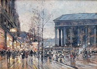 paris, la madeleine by jacques muller