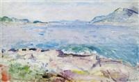 mořské pobřeží by frantisek jiroudek