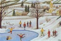 winterfreuden by josef pachta