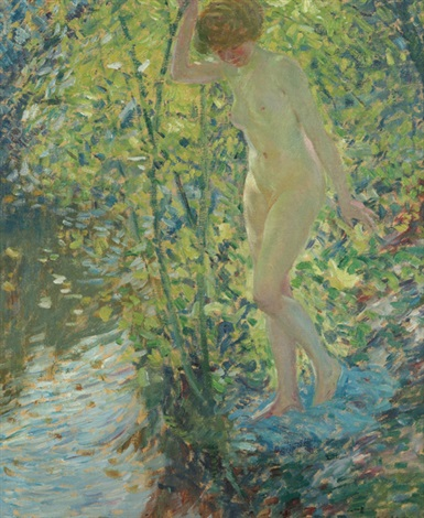 autumn by frederick carl frieseke
