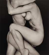couple entwined by john swannell