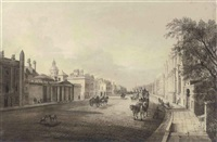 whitehall, london showing dover house and the banqueting house by john m. wauthier