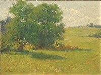 spring landscape by charles chase emerson