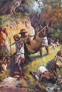 le retour de chasse by henri ratova