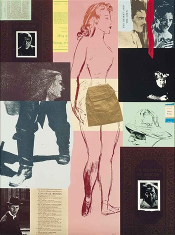 red dancer of moscow by ronald brooks kitaj