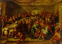 the marriage at cana by hieronymus francken the elder