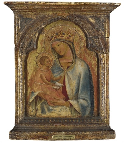 the madonna and child by lorenzo veneziano