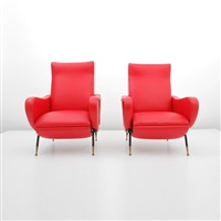 lounge chairs (pair) by fabio lenci