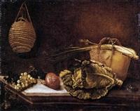natura morta con ortaggi by bartolomeo arbotori