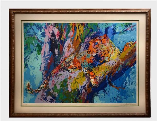 leopard by leroy neiman