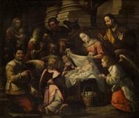 adoración de los pastores by sebastian de llanos valdes
