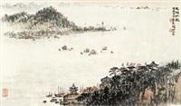 太湖壮观 by qian songyan
