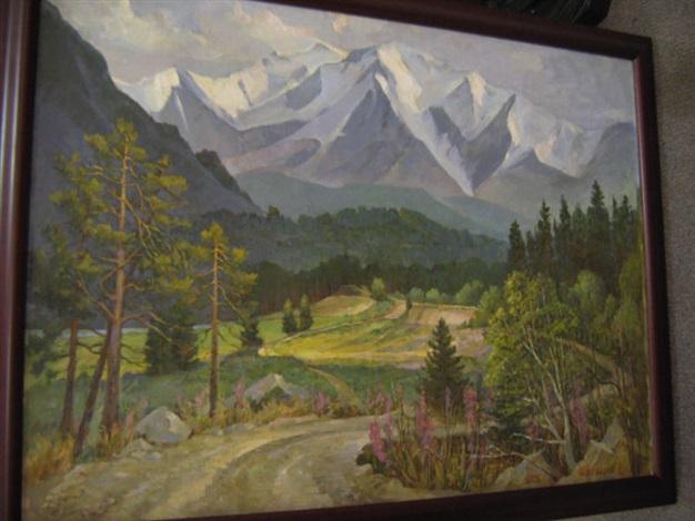 north tchuya mountain range by zaur ibragimov
