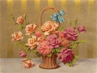 bouquet de fleurs by emmanuel coulange-lautrec