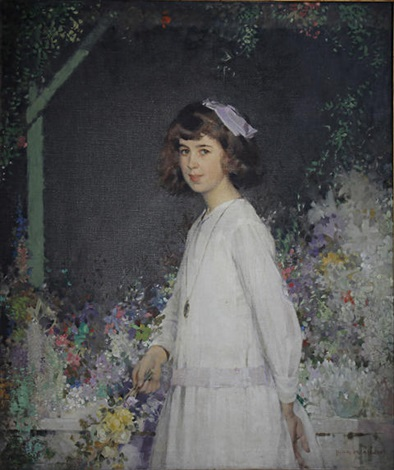 portrait of barbara by john macdonald aiken