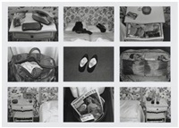 hotel, room 26 (diptyque) (10 works) by sophie calle