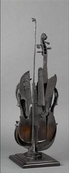 violon calciné by arman