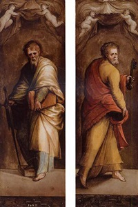 saint paul by innocenzo di pietro (da imola) francucci